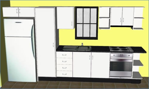 Welcome to fourwall for Two way galley kitchen designs